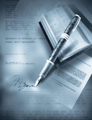 Pensigning document
