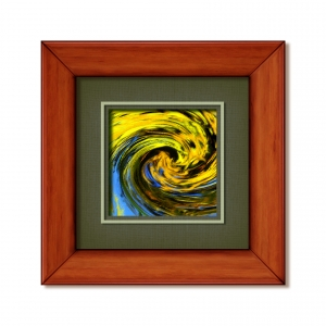 Abstract-paintinginframe