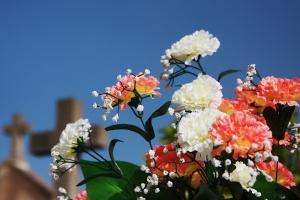 Flowers-cemetery